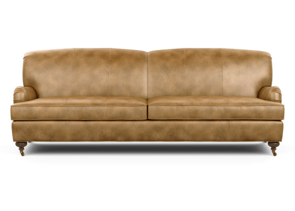 Oxford Grand Leather Sofa Ethan Allen