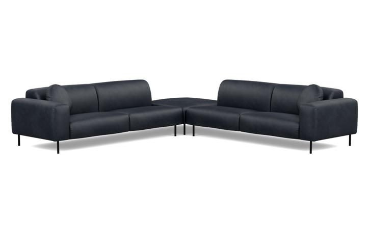 Luna Large Corner Sofa
