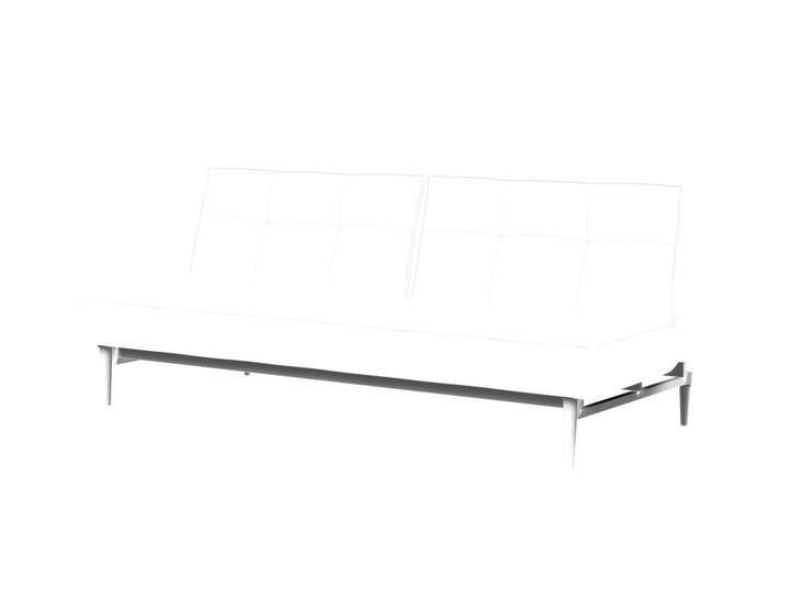 Splitback Styletto Sofa Bed Black Wood