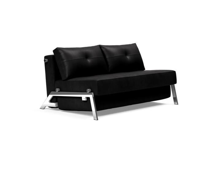 Cubed Chrome 140 Sofa Bed