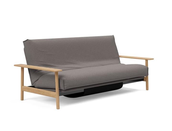 Balder Sofa Bed in natural wood