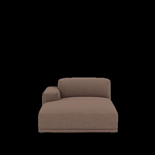 Canvas 356/Black - Left Armrest Lounge (J)