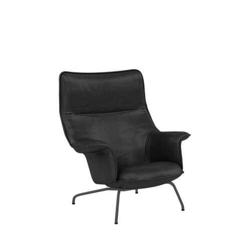 Refine Leather Black/Anthracite Black