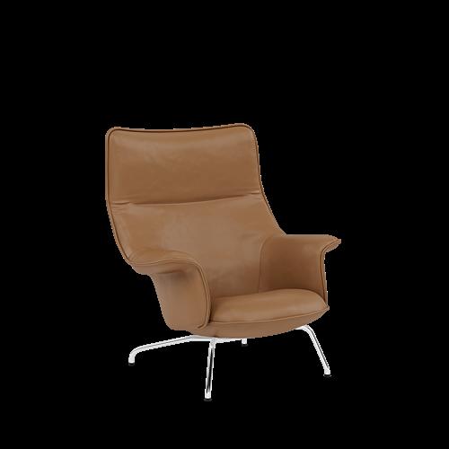 Refine Leather Cognac/Chrome