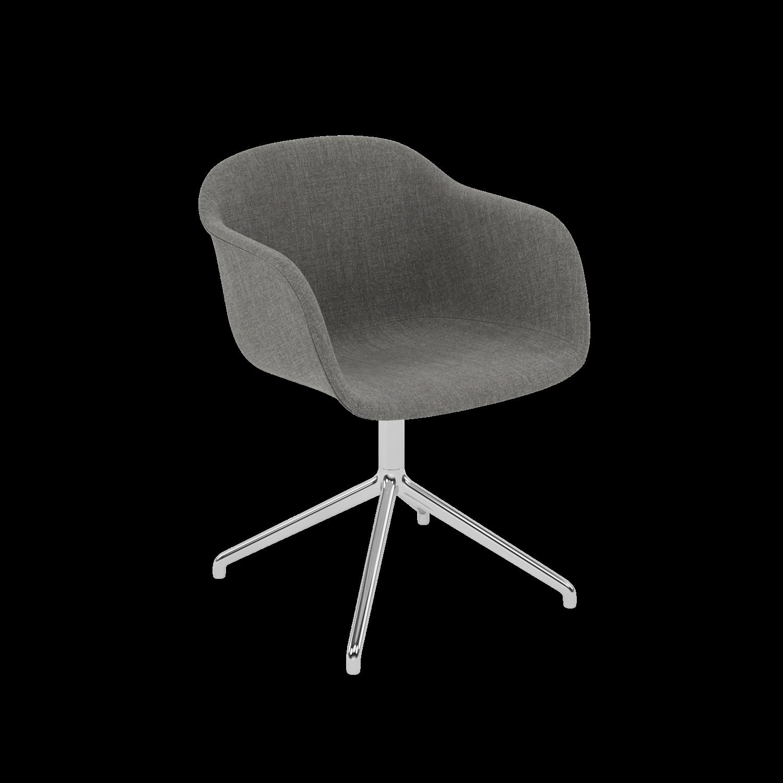 Fiber Armchair Swivel Base Innovative Scandinavian Design