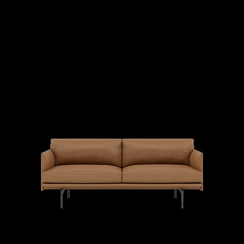 Refine Leather Cognac/Black