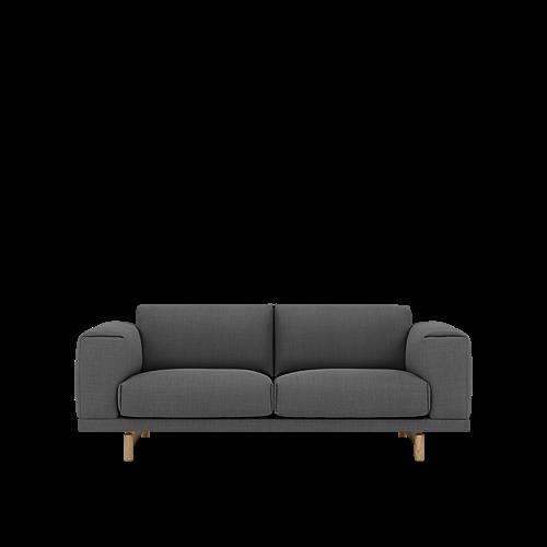 Remix 163/Oak - 2-Seater