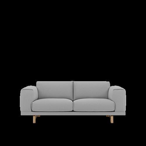 Steelcut Trio Oak - 2-Seater