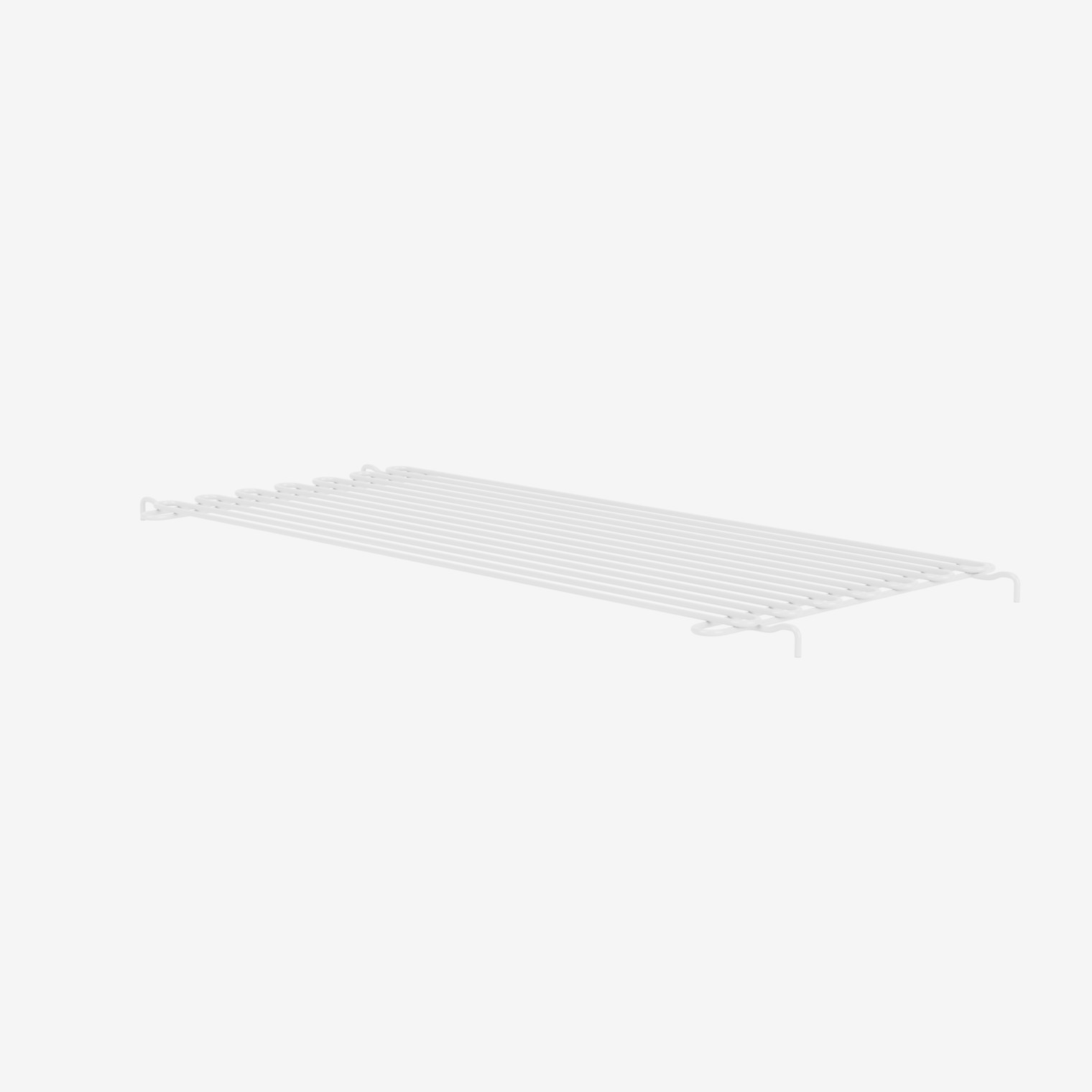 Panton Wire suspended wire shelf