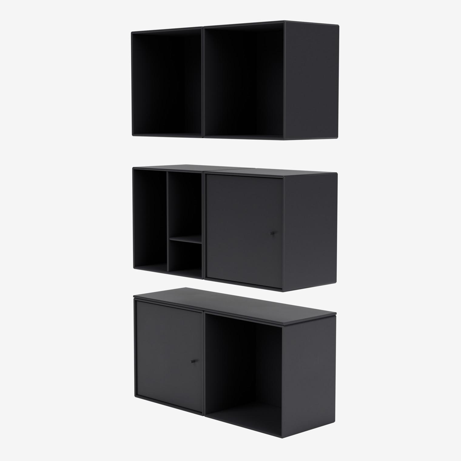 Montana Mini 3007 vertical shelf