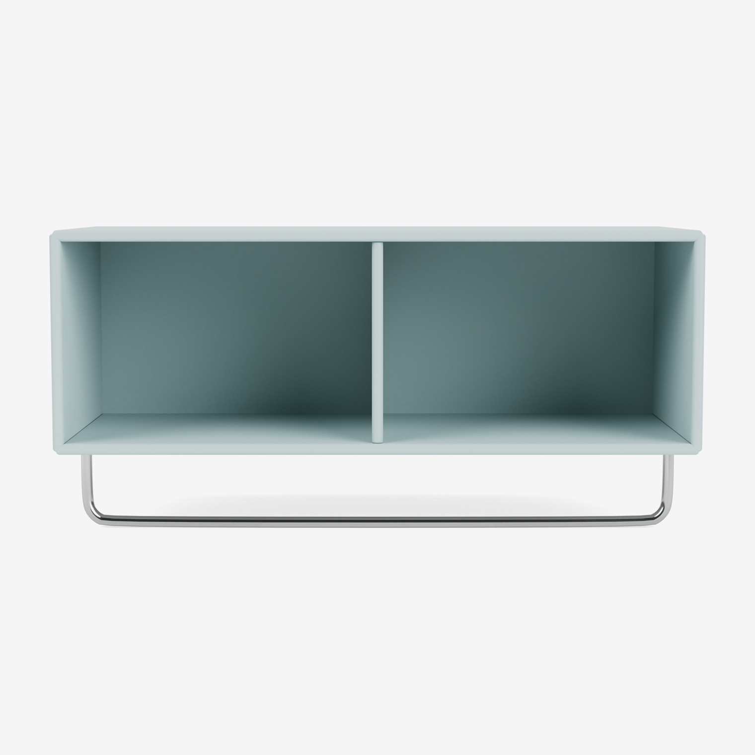 COAT shelf with clothes rack