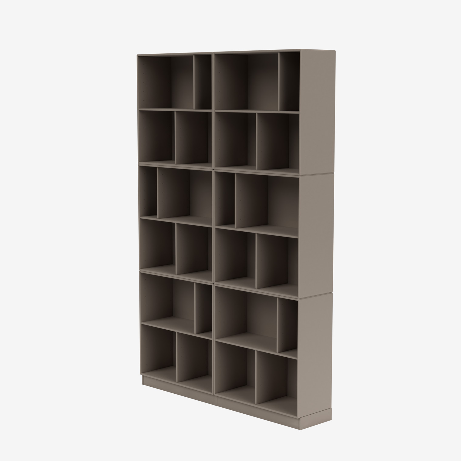 READ spacious bookshelf