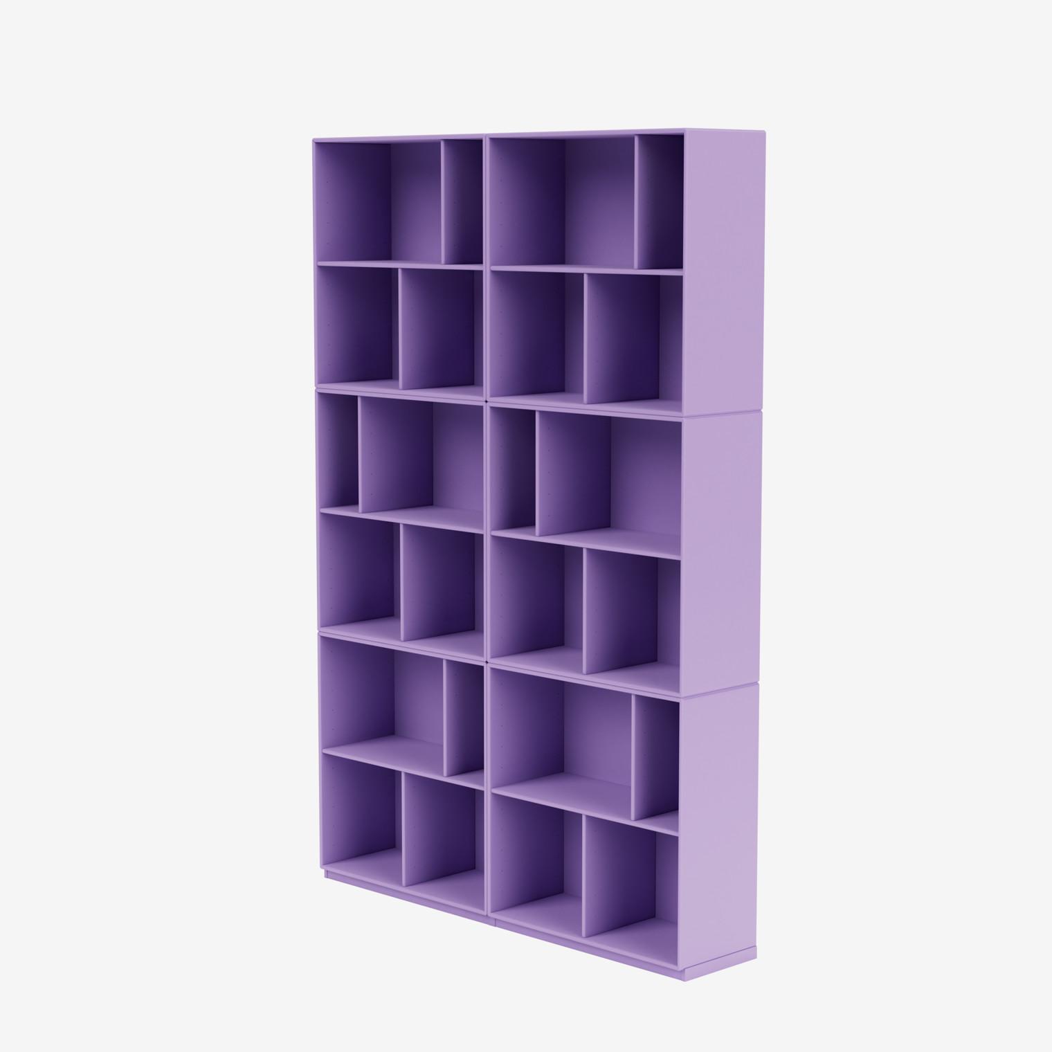 READ spacious bookshelf