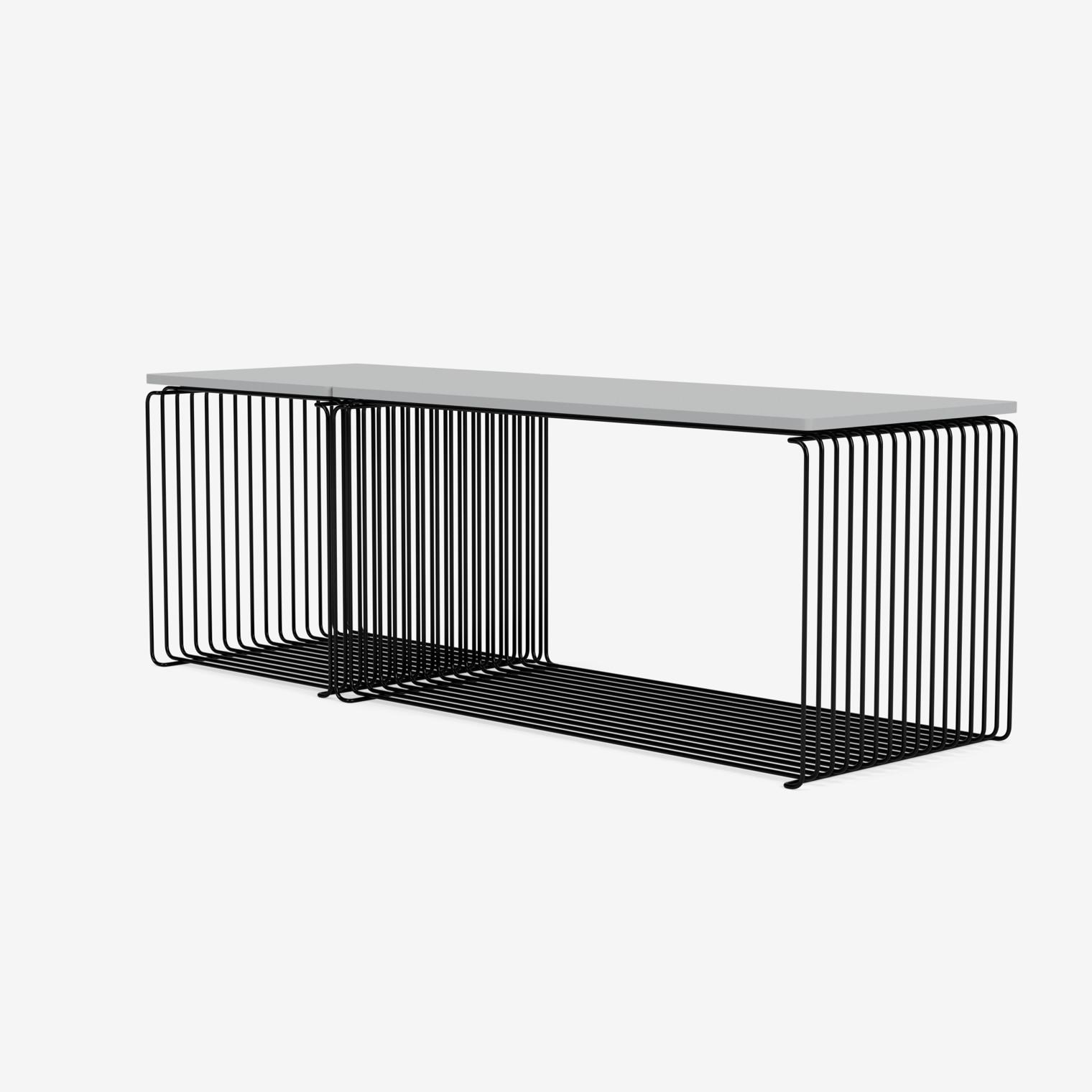 Panton Wire asymmetrisch Sideboard