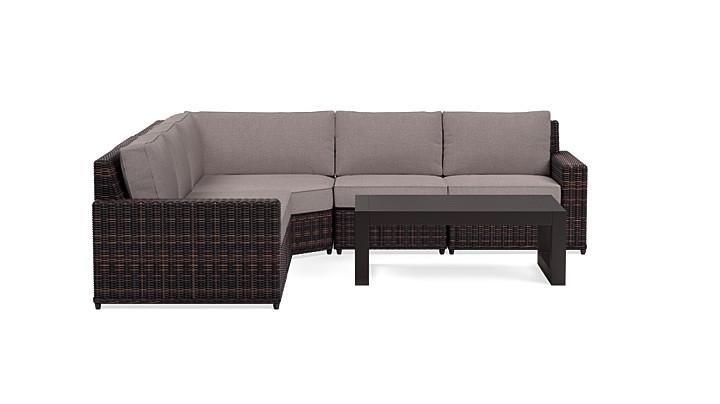 Yardbird Langdon Outdoor Large Sectional Set Outdoor Furniture