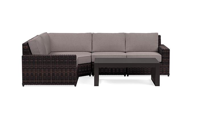 Yardbird Langdon Outdoor Small Sectional Set Outdoor Furniture
