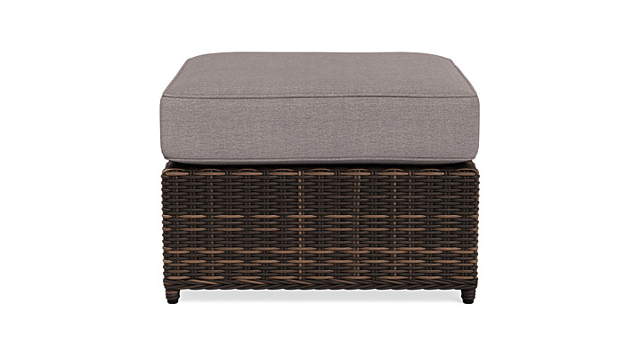 Yardbird Langdon/Waverly Outdoor Ottoman Outdoor Furniture